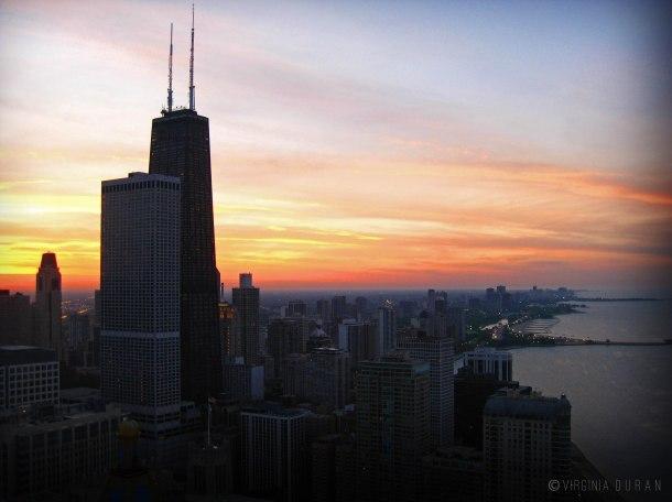 Virginia Duran Blog- Chicago Skyline Architecture Hancock
