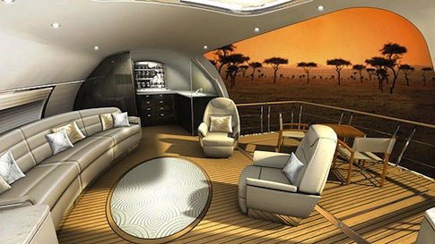 Virginia Duran Blog_Amazing Aircraft-Interior-Design Avro Business Jet Explorer 2