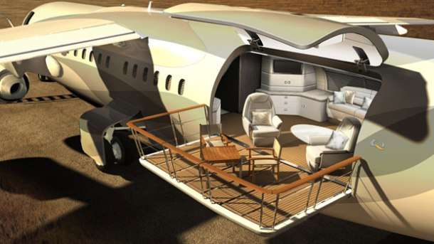 Virginia Duran Blog_Amazing Aircraft-Interior-Design Avro Business Jet Explorer 3