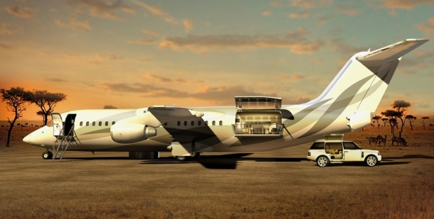 Virginia Duran Blog_Amazing Aircraft-Interior-Design Avro Business Jet Explorer