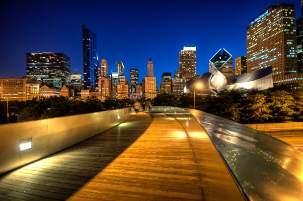 Virginia Duran Blog_BP Bridge -Chicago- Frank Gehry Detail 2