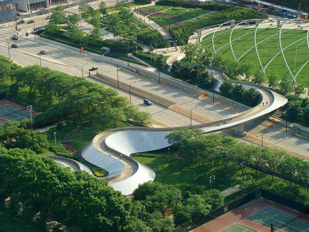 Virginia Duran Blog_BP Bridge -Chicago- Frank Gehry