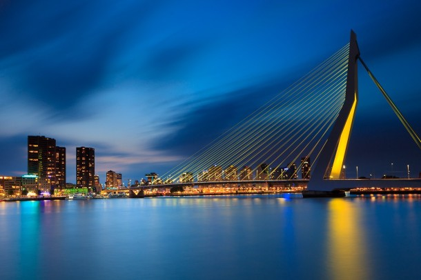 Virginia Duran Blog_Erasmus Bridge Rotterdam 1