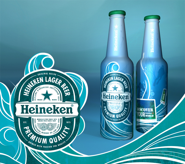 Virginia Duran Blog- Amazing Beer Design- Heineken