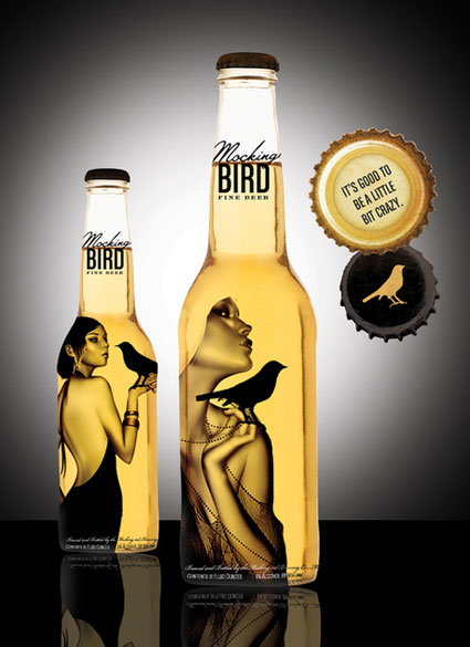 Virginia Duran Blog- Amazing Beer Design- Mocking-Bird