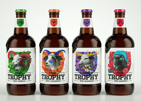 Virginia Duran Blog- Amazing Beer Design- Trophy