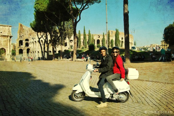 Virginia Duran Blog- Giro in Vespa