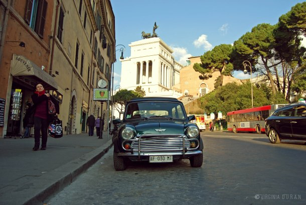 Virginia Duran Blog- Rome-Old-Mini-Cooper