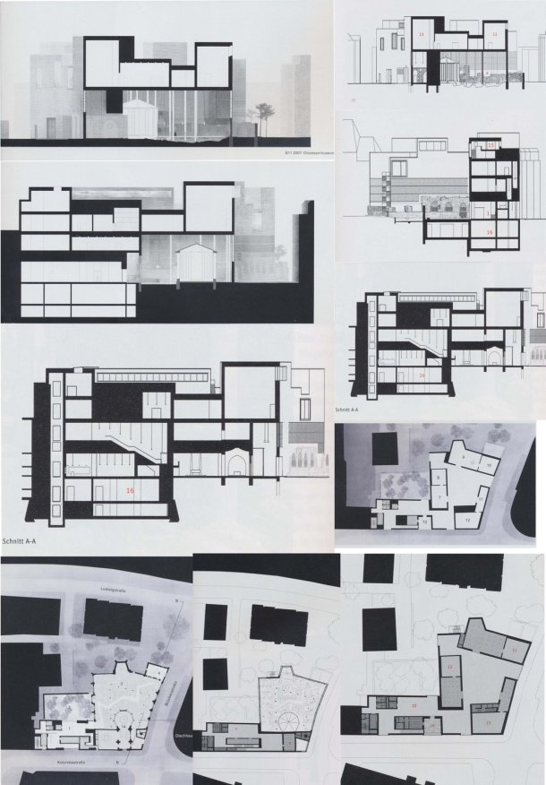Virginia Duran Blog- Unusual Facades- Kolumba Museum Plan Section