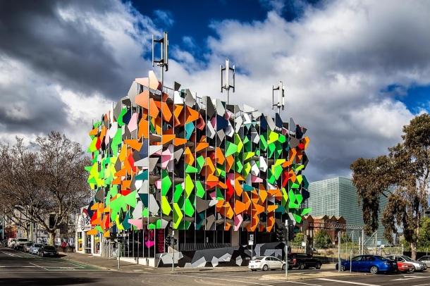 Virginia Duran Blog- Unusual Facades- Pixel Building-Melbourne