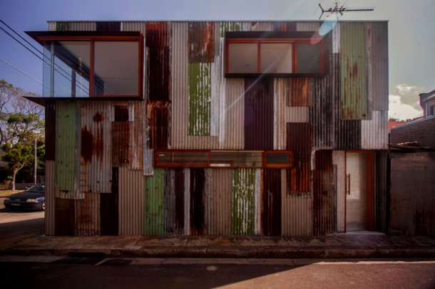 Virginia Duran Blog- Unusual Facades- Tinished House- Australia Façade
