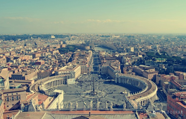 Virginia Duran Blog- Vatican City Dome Views