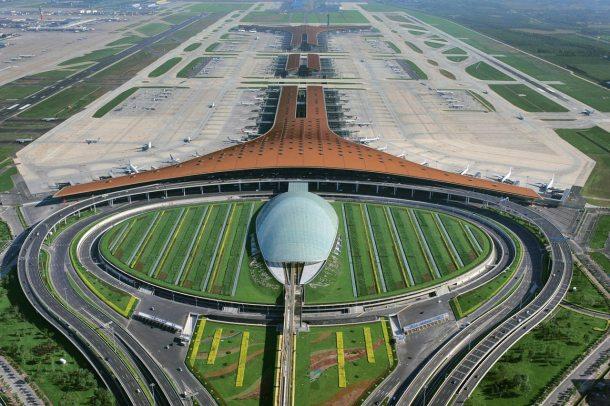 Virginia Duran Blog- Amazing Airports- Beijing International Airport Exterior