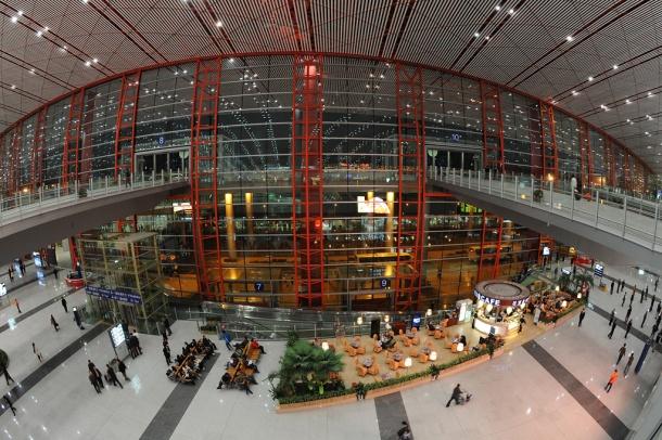 Virginia Duran Blog- Amazing Airports- Beijing International Airport Interior