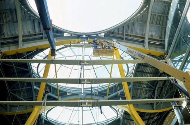 Virginia Duran Blog- Richard Rogers + Estudio Lamela- Madrid Airport- Construction-1