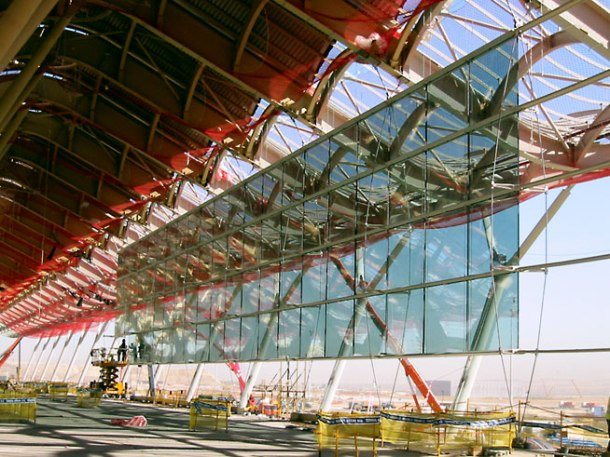 Virginia Duran Blog- Richard Rogers + Estudio Lamela- Madrid Airport- Construction-2