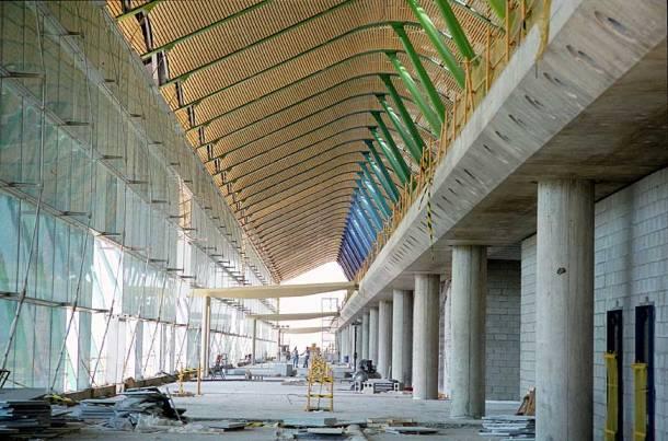 Virginia Duran Blog- Richard Rogers + Estudio Lamela- Madrid Airport- Construction- Interior
