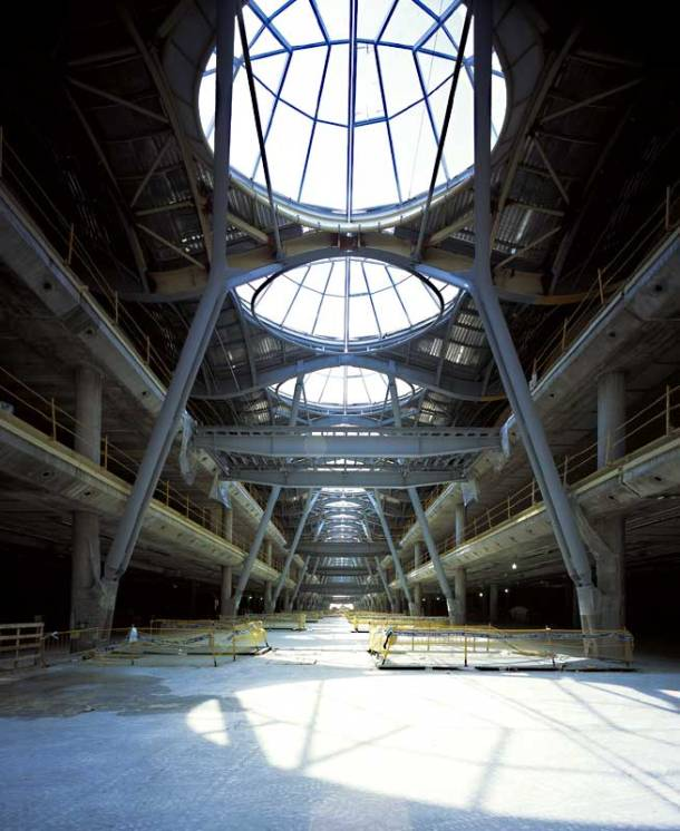 Virginia Duran Blog- Richard Rogers + Estudio Lamela- Madrid Airport- Construction-Roof Interior-Phase 2