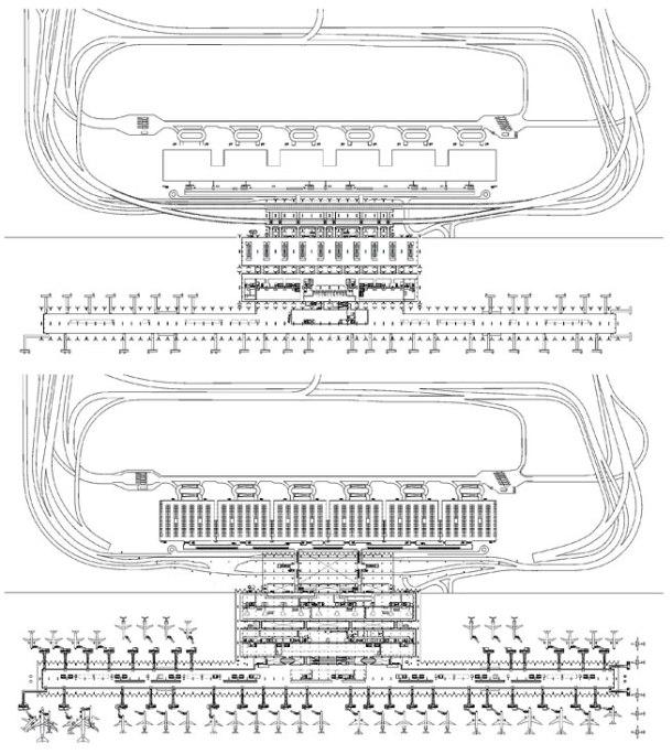 Virginia Duran Blog- Richard Rogers + Estudio Lamela- Madrid Airport- Plan