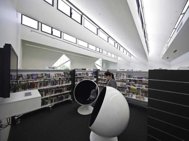 Virginia Duran Blog- Amazing Libraries-Avondale Heights Library and Learning Centre Interior