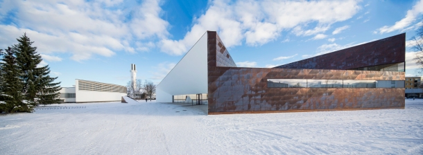 Virginia Duran Blog- Amazing Libraries-City Library in Seinäjoki Winter