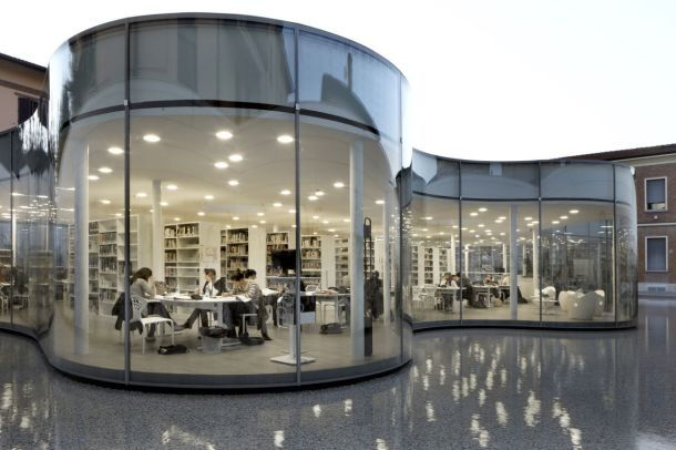 Virginia Duran Blog- Amazing Libraries-maranello-library-andrea-maffei-architects