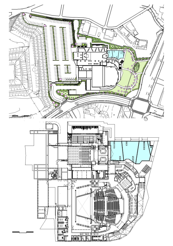 Virginia Duran Blog- Amazing Libraries-Ofunato Civic Center and Library Floor Plan
