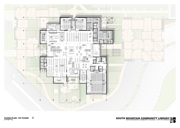 Virginia Duran Blog- Amazing Libraries-South Mountain Community Library Floor Plan