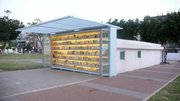 Virginia Duran Blog- Amazing Libraries-The Garden Library for Refugees and Migrant Workers Exterior