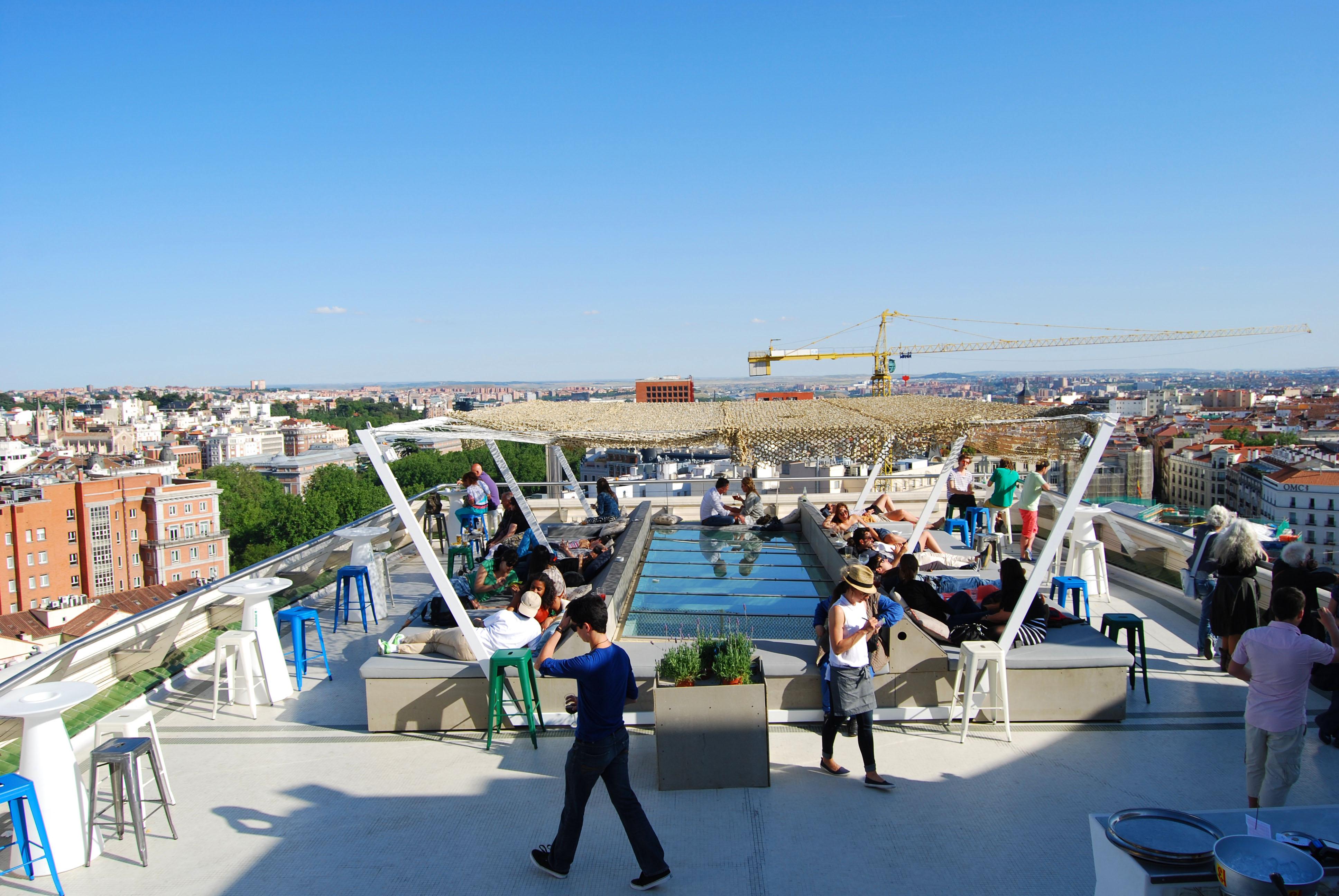 Top 11 Rooftops Of Madrid Virginia Duran