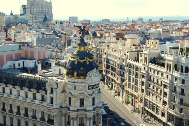 Virginia Duran Blog- Best  Rooftops of Madrid- Circulo de Bellas Artes - Tartan Roof Skyline