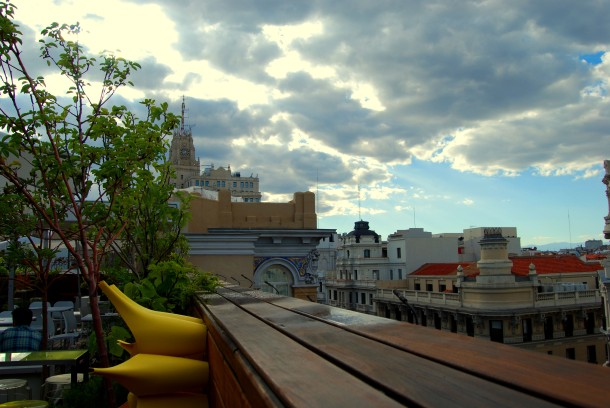 Virginia Duran Blog- Best Rooftops of Madrid- Hotel de las Letras Azotea