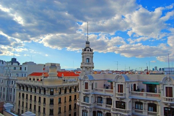 Virginia Duran Blog- Best Rooftops of Madrid- Hotel de las Letras Skyline