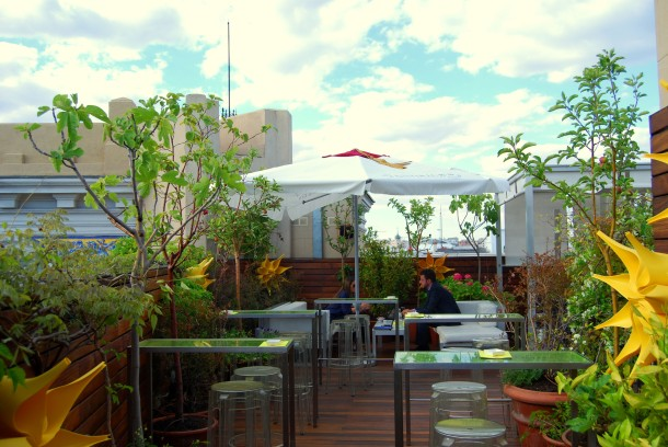 Virginia Duran Blog- Best Rooftops of Madrid- Hotel de las Letras