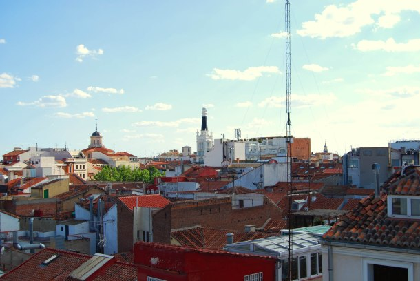 Virginia Duran Blog- Best Rooftops of Madrid- Urban Hotel Skyline
