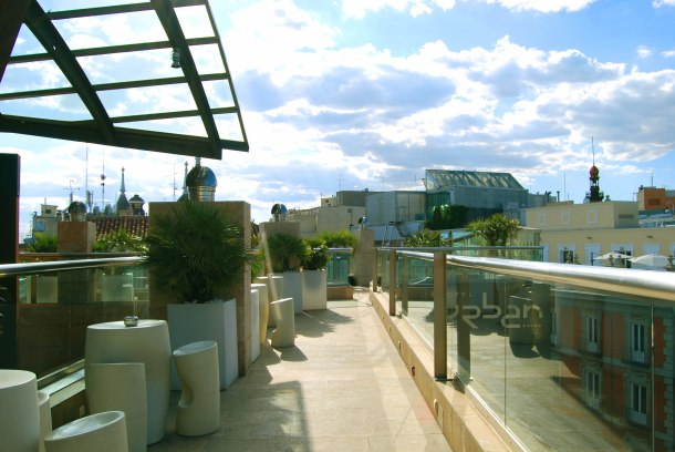 Virginia Duran Blog- Best  Rooftops of Madrid- Urban Hotel