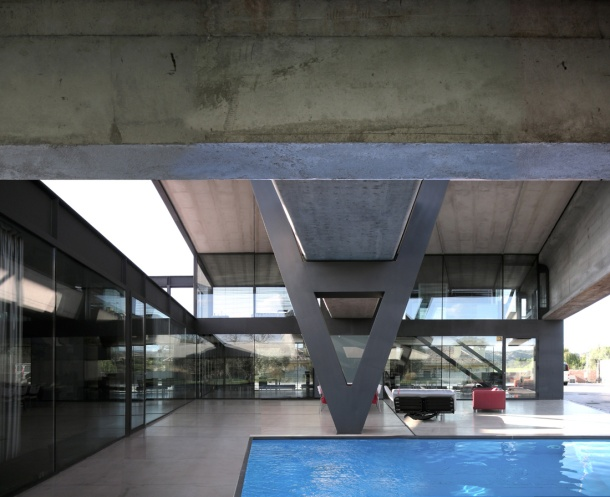 Virginia Duran Blog- Naked Architecture- Hemeroscopium House by Ensamble Studio Interior