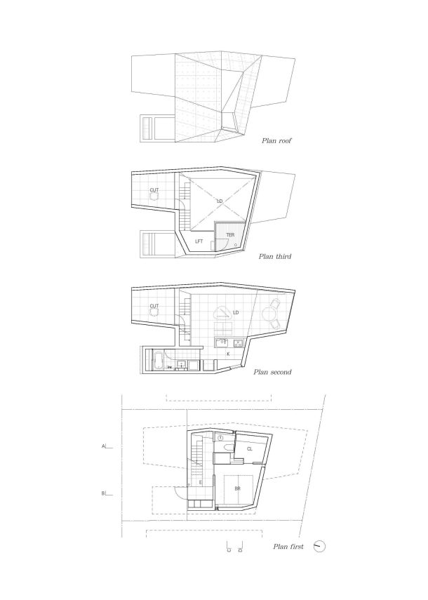 Virginia Duran Blog- Naked Architecture- House in Abiko by Fuse Atelier Floor Plan