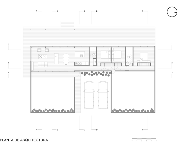 Virginia Duran Blog- Naked Architecture- House W by 01Arq Floor Plan