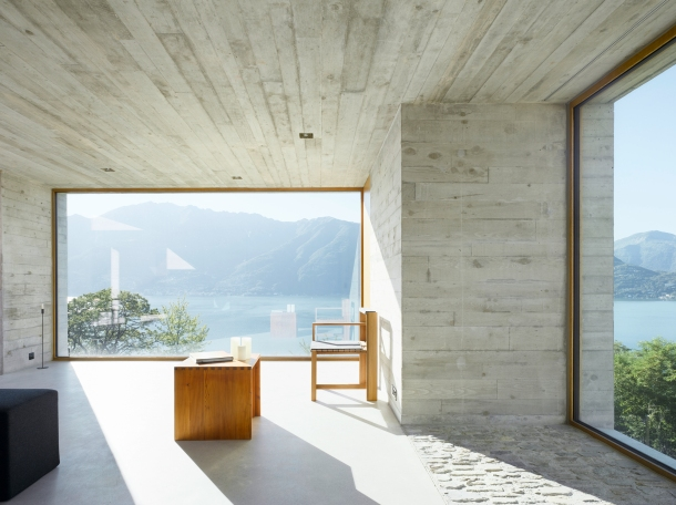 Virginia Duran Blog- Naked Architecture- New Concrete House by Wespi de Meuron Interior