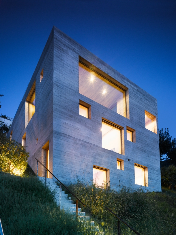 Virginia Duran Blog- Naked Architecture- New Concrete House by Wespi de Meuron