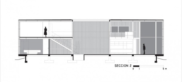 Virginia Duran Blog- Naked Architecture-X House by X Arquitectura Section + Detail