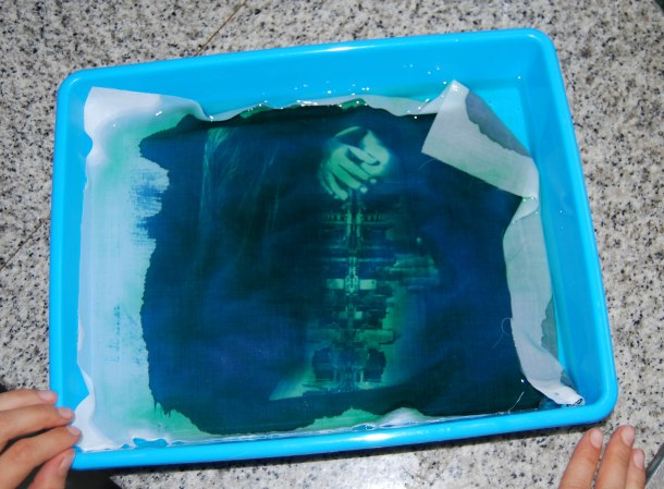 Virginia Duran Blog_How To Make Creative Cyanotype Prints_Cleaning