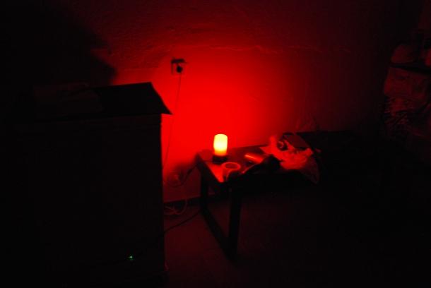 Virginia Duran Blog_How To Make Creative Cyanotype Prints_Dark Room-Red Light