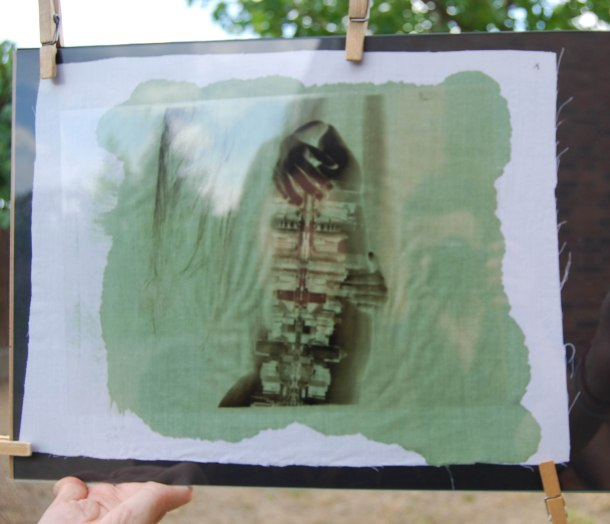 Virginia Duran Blog_How To Make Creative Cyanotype Prints_Green Print