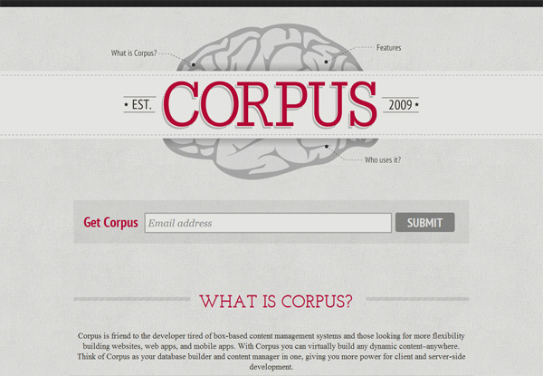 Virginia Duran Blog- Best New Web Design - Inspiration- Corpus