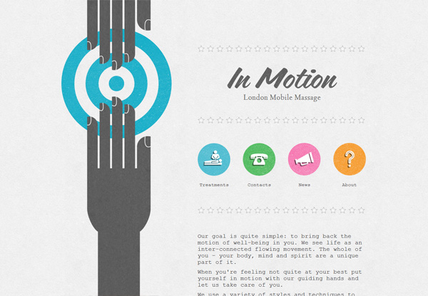 Virginia Duran Blog- Best New Web Design - Inspiration- In Motion