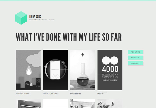 Virginia Duran Blog- Best New Web Design - Inspiration- lindadong