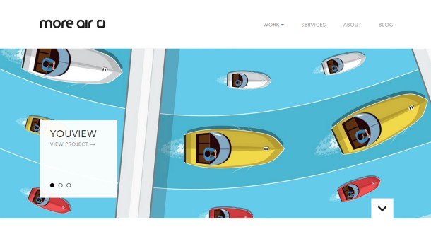 Virginia Duran Blog- Best New Web Design - Inspiration- More Air
