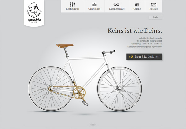 Virginia Duran Blog- Best New Web Design - Inspiration- myownbike